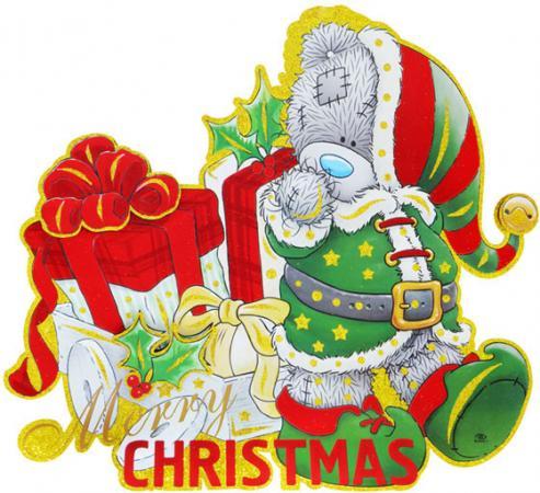 Панно Winter Wings Me to you «Мишка с подарками» MTY-N09007 63x55 см панно me to you мишка с подарками 55х65 см