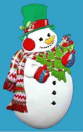 Новогоднее панно Winter Wings Снеговик с ёлкой 86х48 см N09139 новогоднее панно winter wings снеговик с ёлкой 80х43 см n09136