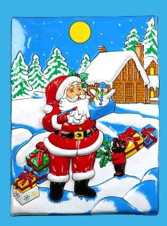 Панно Winter Wings дом Деда Мороза N09155 53x37 см росмэн книга стихи для деда мороза