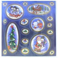Наклейка Winter Wings панно Новогодние мотивы 29,5x29,2 см N09288 наклейка