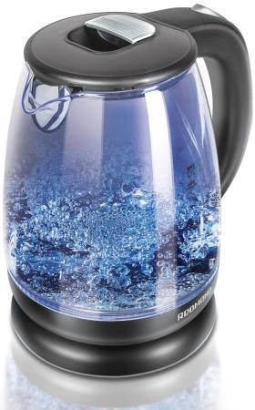 Чайник Redmond RK-G178 2000 Вт чёрный 1.7 л стекло