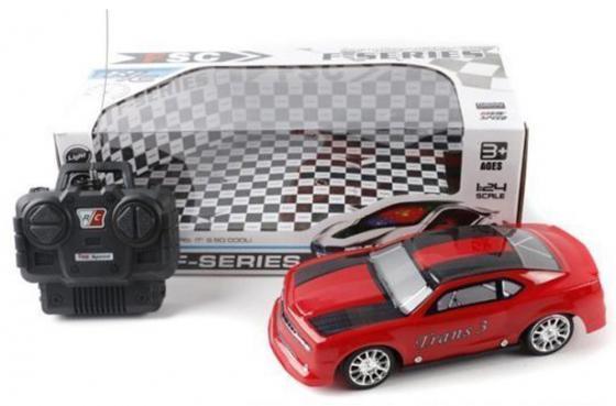 Машинка на радиоуправлении Shantou Gepai Trans 3 красный от 3 лет пластик 3398-6 машинка на радиоуправлении shantou gepai chevrolet camaro красный от 3 лет пластик 1623 2a