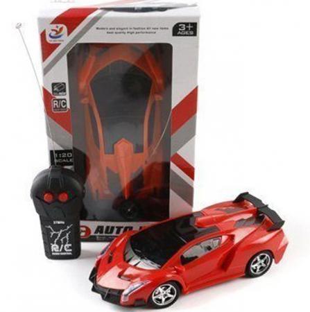 Машинка на радиоуправлении Shantou Gepai YF666-3 красный от 3 лет пластик, металл Р40146 игрушка shantou gepai машина перевертыш 666 858