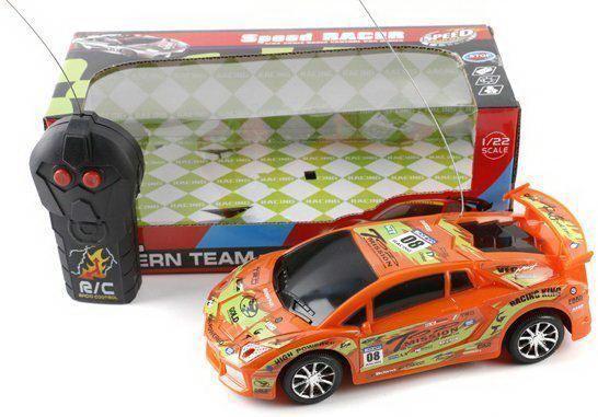Машинка на радиоуправлении Shantou Gepai 5516-5A оранжевый от 3 лет машинка на радиоуправлении shantou gepai model пластик от 3 лет оранжевый 635566