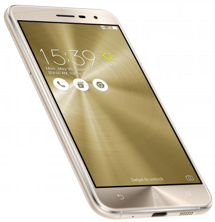 Смартфон ASUS ZenFone 3 ZE520KL золотистый 5.2 32 Гб LTE Wi-Fi GPS 3G 90AZ0173-M00600 смартфон asus zenfone 3 max zc553kl серебристый 5 5 32 гб lte wi fi gps 3g 90ax00d3 m00300