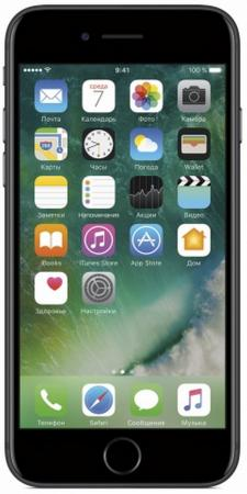 Смартфон Apple iPhone 7 черный 4.7 128 Гб NFC LTE Wi-Fi GPS 3G MN922RU/A смартфон alcatel u5 hd 5047d белый 5 8 гб lte wi fi gps 3g