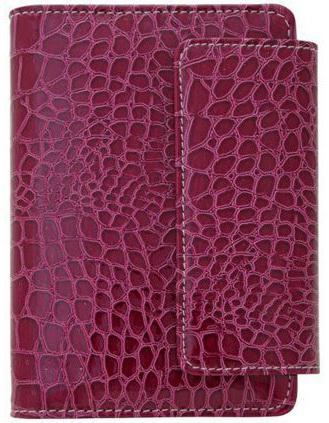 Бизнес-органайзер датированный Index CROCO A6 искусственная кожа IBO1040/5/RD цена и фото