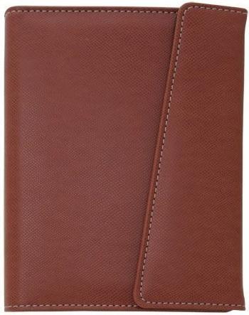 Бизнес-органайзер датированный Index DELI искусственная кожа IBO1050/7/BR deli гастроном 3186 бизнес офис кожа блокнот конференц зал notebook 25k 160 е браун