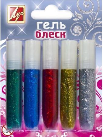 Гель художественный Луч 12С761-08 5 цветов 12С761-08