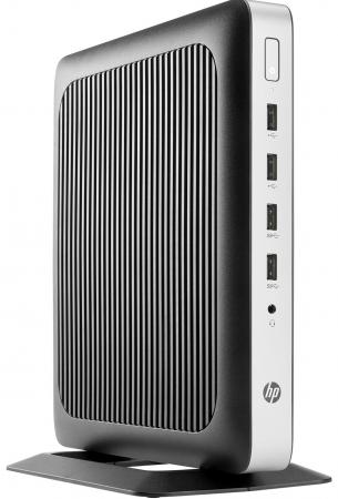 Тонкий клиент HP t630 AMD G-GX-420GI 4Gb SSD 8 AMD Radeon R6E 64 Мб HP ThinPro черный X4X17AA тонкий клиент hp t420 gx 209ja 1 0ghz hp smart zero core black m5r72aa