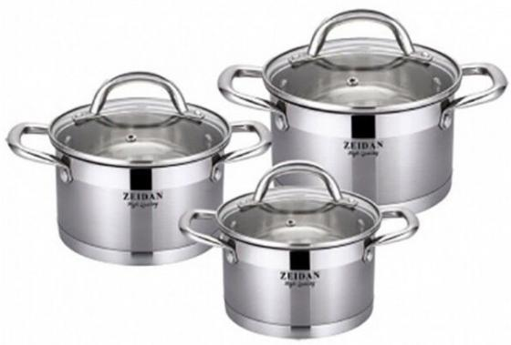 Набор посуды Zeidan Z-50613 6 предметов набор посуды zeidan z 51101