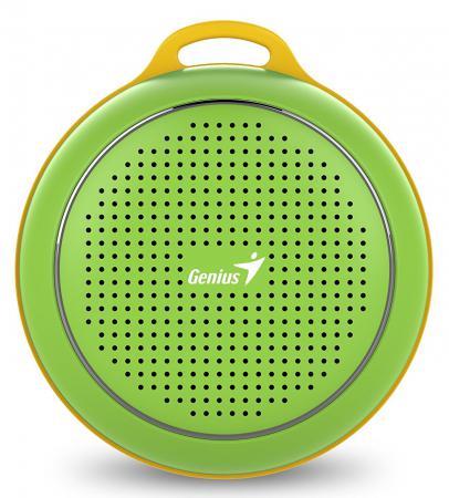 Портативная акустика Genius SP-906BT 3 Вт зеленый genius hs 300a silver