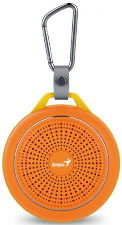 Портативная акустика Genius SP-906BT 3 Вт оранжевый genius bluetooth колонка genius sp 906bt blue