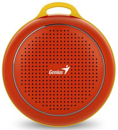 Портативная акустика Genius SP-906BT 3 Вт красный genius bluetooth колонка genius sp 906bt blue
