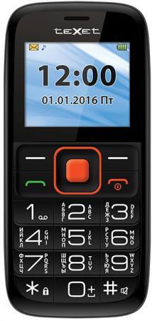 Мобильный телефон Texet TM-B117 черный оранжевый 2 texet tm b117 black orange