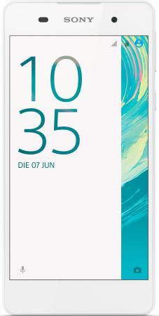 "Смартфон SONY Xperia E5 белый 5"" 16 Гб NFC LTE Wi-Fi GPS 3G F3311 [1302-8958]"