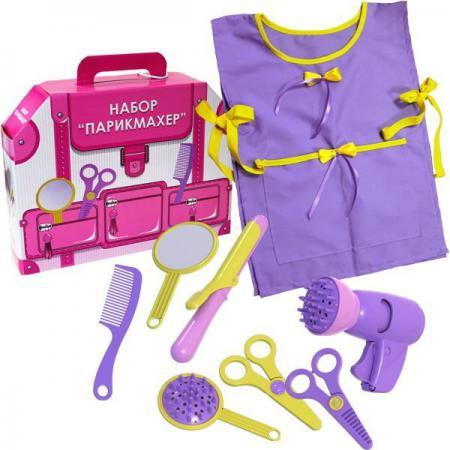 Игровой набор Shantou Gepai Парикмахер 8 предметов 22146 игровой набор shantou gepai магазинчик тележка с продуктами 14 предметов