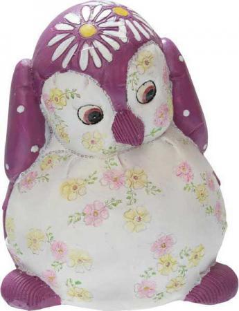 Копилка Winter Wings ПИНГВИН 15 см полирезин, розовый N161483 jd коллекция розовый пингвин умиротворить раннее обучение машины дефолт