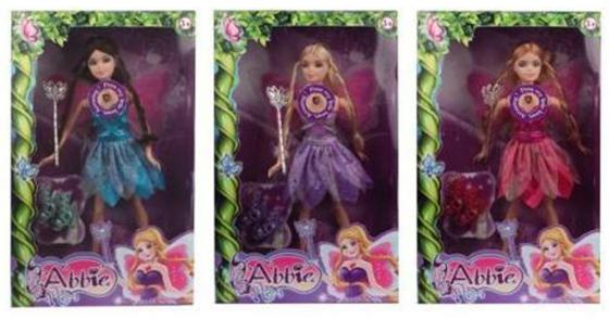 Кукла Shantou Gepai abbie фея 29 см ассортимент B040 кукла shantou gepai abbie модница 29 см ab024 в ассортименте