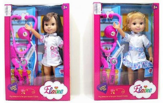 Кукла Shantou Gepai Доктор 32 см ассортимент сумка shantou gepai 9703a 59 розовый