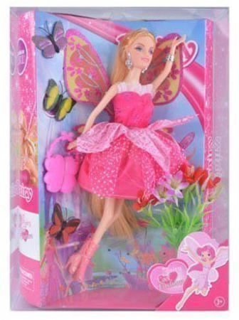 "все цены на Кукла Shantou Gepai ""Фея-модница"" 29 см с аксессуарами XD180-3 онлайн"