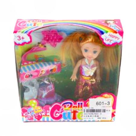 Кукла Shantou Gepai Куколка 9см с аксес-ми 9 см 35808 цена