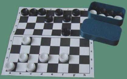 Настольная игра русские шашки Совтехстром Шашки с доской У703