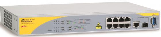 Коммутатор Allied Telesis AT-8000/8POE-50 управляемый 8 портов 10/100/1000Mbps