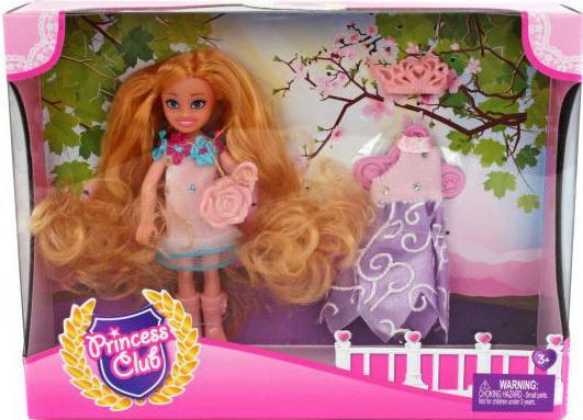 Игровой набор Shantou Gepai кукла Princess Club Мой гардероб 3 предмета KW20913 кукла shantou gepai princess club kw20906