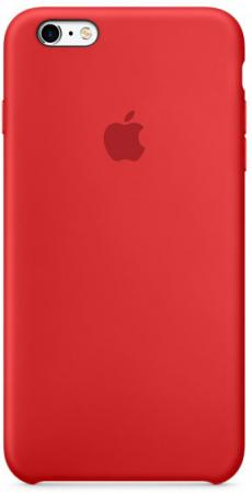Чехол Apple MKXM2ZM/ для iPhone 6S Plus    красный