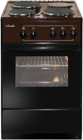 лучшая цена Электрическая плита Лысьва ЭП 301 коричневый