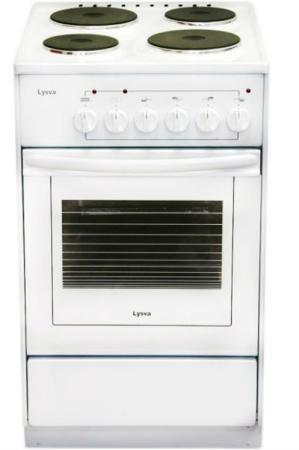 Электрическая плита Лысьва ЭП 401 СТ белый электрическая плита лысьва эп 301 wh