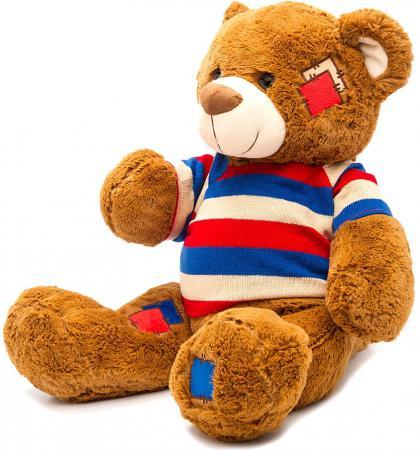 Мягкая игрушка медведь Fluffy Family Мишка Топтыжка в кофте 50 см коричневый плюш  681174