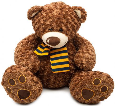 Мягкая игрушка медведь Fluffy Family Тошка 60 см коричневый плюш  681183