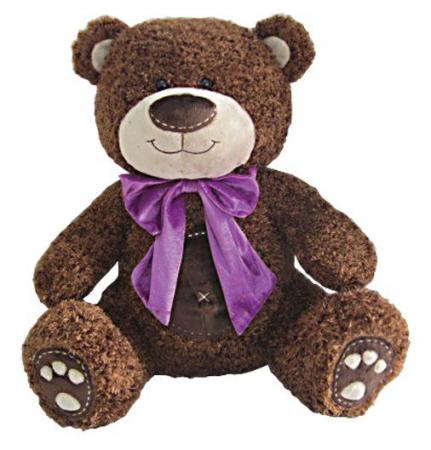 Мягкая игрушка медведь Fluffy Family Мишка Бадди 70 см коричневый текстиль 681180