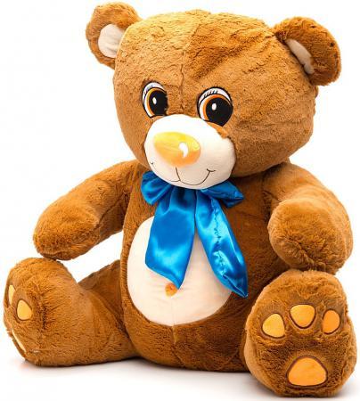 Мягкая игрушка медведь Fluffy Family Мишка Тоша 70 см коричневый плюш 681178 трикси игрушка мишка 30см плюш