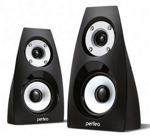 Колонки Perfeo Forte PF-236 2x3 Вт USB черный колонки cbr cms 660 2x3 вт черный
