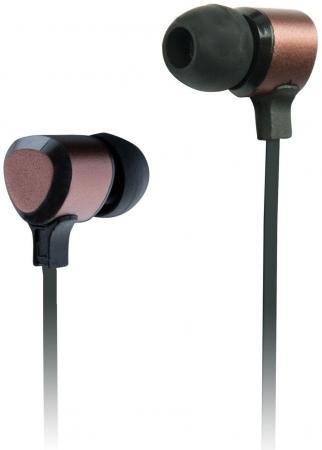 Наушники Ritmix RH-136 Metal Bronze черно-коричневый наушники ritmix rh 136 metal bronze черно коричневый