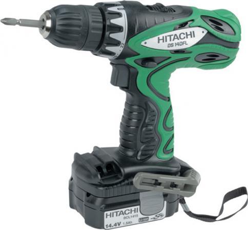 цена на Аккумуляторный шуруповерт Hitachi DS14DFL
