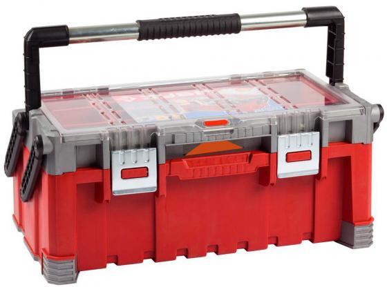 Ящик для инструмента Зубр Эксперт 22 пластмассовый 38138-22 ящик для инструментов зубр 16 эксперт 38132 16