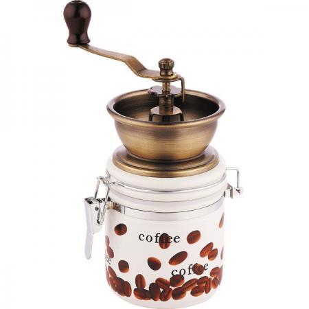 Кофемолка Wellberg WB-9941 с рисунком wellberg wb 3445