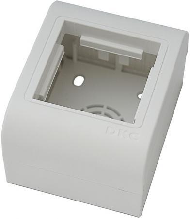 Коробка монтажная DKC PDM 10013 2x Mosaic белый  профиль dkc bpf2930