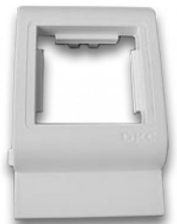 Рамка DKC 00514 2x Mosaic белый крепление dkc f00011 белый