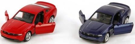 Машина мет.Пламенный мотор 1:43 Ford Mustang GT, откр.двери, цвета в ассорт. машина мет пламенный мотор 1 43 bmw x6 откр двери цвета в ассорт