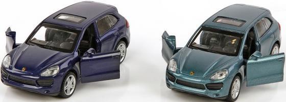 Машина мет.Пламенный мотор 1:43 Porsche Cayenne S, откр.двери, цвета в ассорт. машины kidztech радиоуправляемый автомобиль 1 12 porsche cayenne s