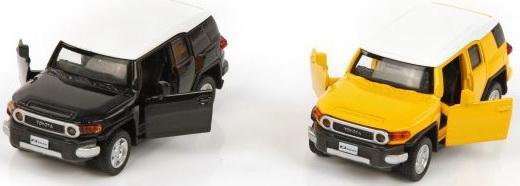 Автомобиль Пламенный мотор Toyota FJ Cruiser 1:43 цвет в ассортименте 4891761238063 в ассортименте пламенный мотор коллекционная машинка пламенный мотор по дорогам россии volvo мчс 1 36