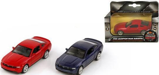 Машина мет.Пламенный мотор 1:43 Ford GT, откр.двери, цвета в ассорт. 870136 цена