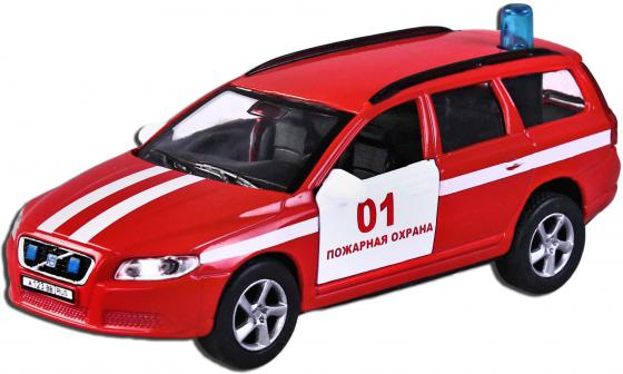 Машина Пламенный мотор 1:32 Volvo V70 Пожарная охрана 16 см красный  87498 машина пламенный мотор volvo v70 пожарная охрана 87498