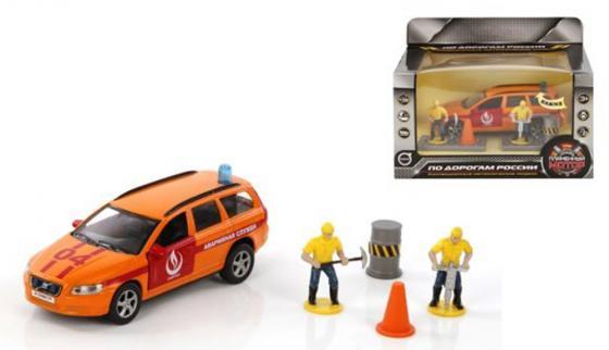 Аварийная служба Пламенный мотор Volvo Аварийная служба Горгаз 18 см оранжевый 870078 пожарная машина пламенный мотор 1 32 служба пожаротушения красный 18 см 870067