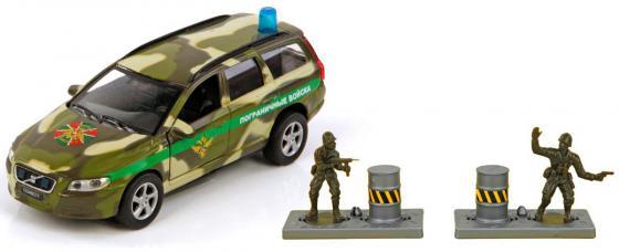 Войска Пламенный мотор Volvo Пограничные войска 18.5 см камуфляж 870079 машина пламенный мотор volvo v70 пожарная охрана 87498